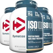 Dymatize Nutrition ISO 100 hydrolysée 100% Pure Lactosérum Isolat De Protéines sans gluten