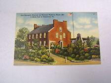 Postcard Fort Necessity Museum Uniontown PA Unused