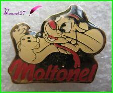 Pin's Papier Toilette MOLTONEL avec une Petite Souris Mouse * Rare * #1509