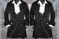 Gothic Mittelalter Mantel Jacke Gehrock M L XL XXL XXXL