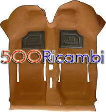 FIAT 500 F/L/R 126 TAPPETO PAVIMENTO INTERNO RIVESTIMENTO IN MOQUETTE BEIGE OCRA
