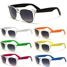 Clear Frame Mens Womens Classic Sunglasses Vintage Retro Fashion Glasses