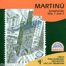 Martinu: Symphonies (Sinfonie) Nos 1 & 2 / Neumann, Czech - CD