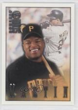 1998 Donruss Studio #54 Al Martin Pittsburgh Pirates Baseball Card