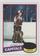 1980-81 Topps #121 Wayne Stephenson Washington Capitals Hockey Card