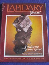 LAPIDARY JOURNAL - GALENA - Jan 1989 v 42 # 10