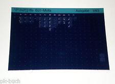 Microfich Ersatzteilkatalog Vespa Ec1 Mofa Stand 01/1983
