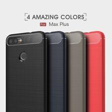 Housse etui coque silicone gel Asus Zenfone Max Plus (M1) ZB570TL + verre trempe