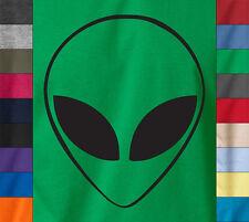Alienware ALIEN HEAD T-Shirt Computer PC Gamer Geek UFO XBOX Ringspun Cotton Tee