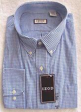 IZOD® Button-Down Plaid Long Sleeve American Dr.  Men's Sz M-XXL NWT MSRP$55 SP