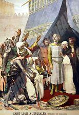 L'enfant du régiment/SAINT LOUIS  à JERUSALEM de CABANEL 1898 Le PtJournal N°408