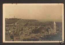 JERUSALEM (ISRAEL / PALESTINE) VILLAS en carte-photo