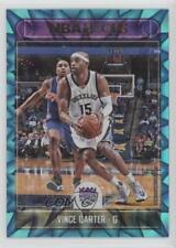2017-18 Panini NBA Hoops Teal Explosion #52 Vince Carter Sacramento Kings Card