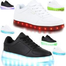 Men Women LED Lights Lace Up Luminous Sportswear Sneaker Luminous Casual Shoes