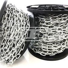 BOBINE COMPLETE DI Zincato HEAVY DUTY spessore catena saldata corto lungo i collegamenti da appendere