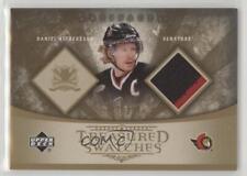 2005 Upper Deck Artifacts Treasured Swatches TS-DA Daniel Alfredsson Hockey Card