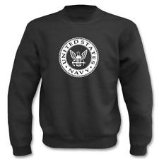 US United States Navy Logo I Fun I Sprüche I Lustig I Sweatshirt I bis 5XL