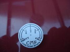 TRIUMPH Panneau BADGE PLAQUE SIGNE CMF NIVEAU DE CARBURANT