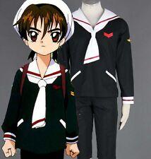 Card captor Sakura LI SYAORAN Cosplay costume Kostüm japan uniform CLAMP neu new