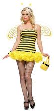 Honey Bee Costume, Leg Avenue 8412, Adult Women's 3 Piece, Size XS, S/M, M/L