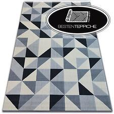 Modern Teppich CANVAS SCANDI Balta Flachflor Dicht Gewebtem Geometrisch Dreieck