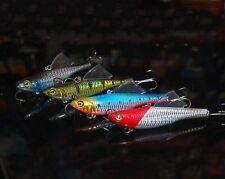 5PCS fishing Lure Fly Swing Minnow Rattlin hook lure baits 20g/8.5cm 28g/8.5cm