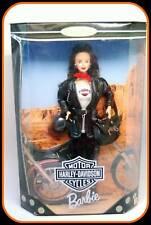 Harley-Davidson Motorcycle Barbie #3 Brunette Collector Doll 1999 NRFB