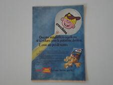 advertising Pubblicità 1973 PATATINE SAN CARLO JUNIOR