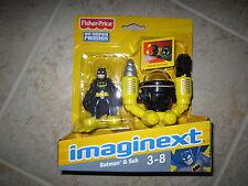 Imaginext DC Super Friends Fisher Price Batman's submarine sub underwater sea