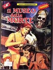 1989 Italian erotic horror comic IL MUSEO della MORTE