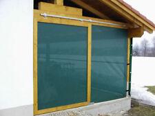 Hochleistungs Windschutznetz grün o. beige 460g/m² Profiqualität f. Hof, Garten