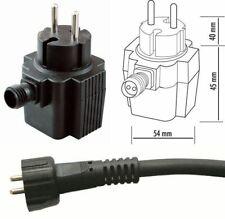 seliger Steckernetzgerät Netzteil Netzgerät Trafo T10W T20W IP44 230V AC 12V