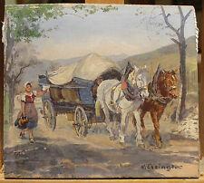 Hans Enzinger c.1930's painting Austrian artist Germany Austria