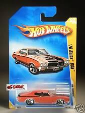 Hot Wheels 2009 #007 '70 Buick GXS RED,5SP,B18,INTL