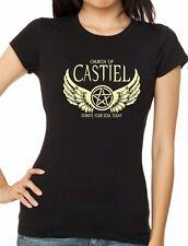 Womens TV Series SUPERNATURAL : CASTIEL  Donate You Soul T-shirt