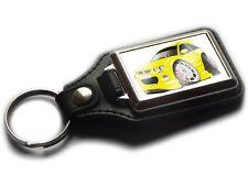 MG ZR Sport Hatch Back Car Koolart Leather and Chrome Keyring