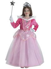 Costume Vestito Carnevale Bambina BELLA ADDORMENTATA Rosa 3 4 5 6 7 8 10 11 Anni