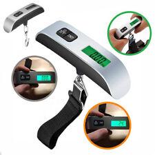 Handheld Digital Hanging Luggage Scale LCD Display Weight Travel Bag Balance CA