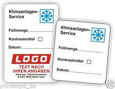 KFZ-Serviceaufkleber Klimaanlagen Service AufkleberInspektionsaufkleber Art.11