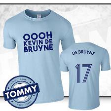 Hombre Ciudad Kevin de Bruyne T-Shirt, vírgen de Bruyne Camiseta, Hombre City tshirt regalo