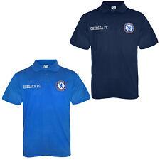 Chelsea FC - Polo oficial para niño - Con el escudo del club - Azul marino