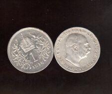 Silber 1 Korona Sie Wählen ab 1912 bis 1916  ab 5 auktionen  portofrei
