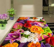 3D fiore luminoso art Pavimento Foto Wallpaper Murales Muro Stampa Decalcomania