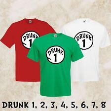 95ac69d352c Mens Ladies Unisex St Patricks Day Funny T-Shirt Drunk Dr Seuss Thing Irish  Tee