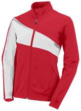 Augusta Sportswear Girls Polyester Long Sleeve Front Zipper Basic Jacket. 7736