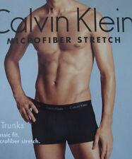 CALVIN KLEIN MICROFIBER STRETCH CLASSIC FIT BOXER TRUNK U8721 CK Mens Underwear