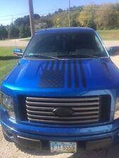 American Flag Hood Decal large graphic Fits jeep cj tj wrangler trailer car v6