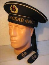NEUF!!! CASQUETTE SOVIETIQUE pour de la Flotte NOIR