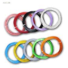 ( 0,33€/ m) 10M FLEXIBLE GALON 0,50mm ² Fil toronné câble, toron en cuivre