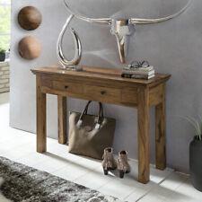 FineBuy Table console en bois massif console bureau 110 x 40cm ferme buffet Neuf